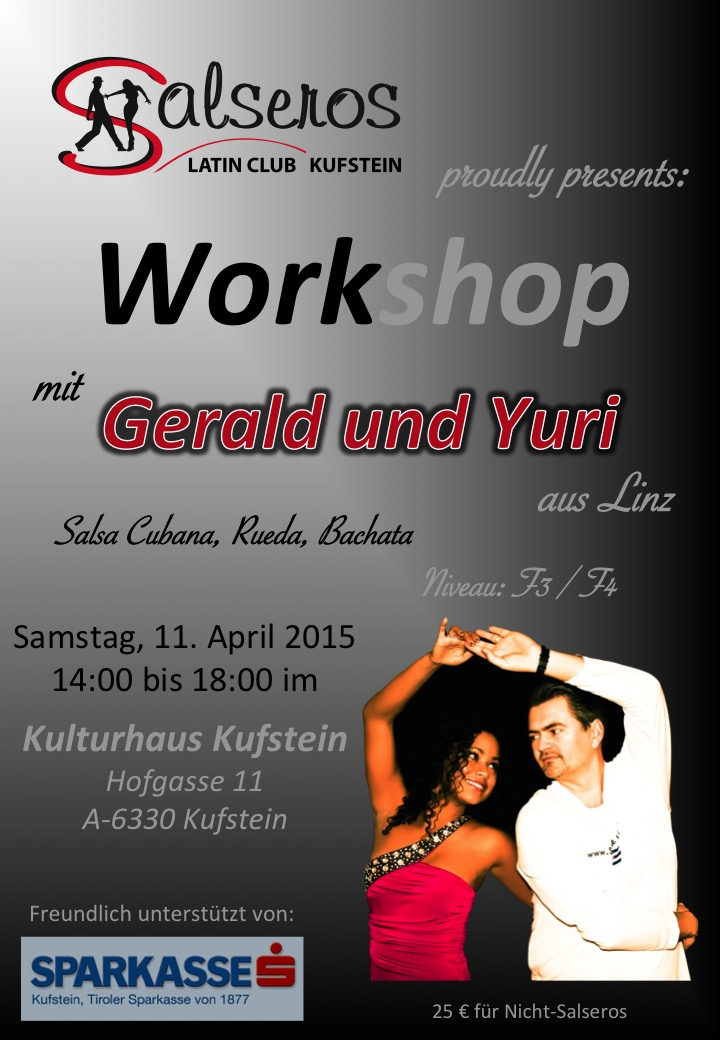 Workshop mit Gerald 2015-04-11